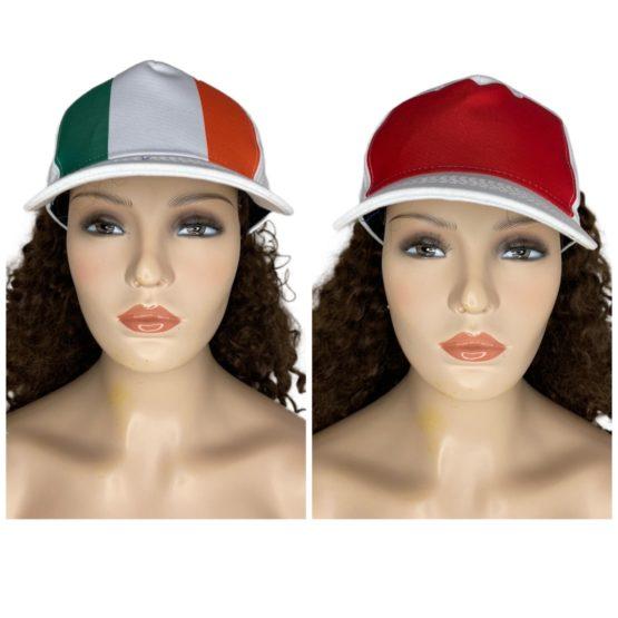 Open back baseball caps